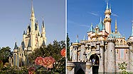 Pictures: Disney World vs. Disneyland